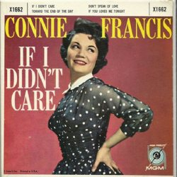 Francis, Connie - MGM EP 1662 - If I Didn't Care