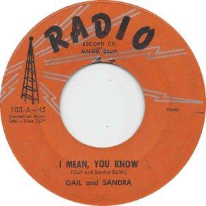 GAIL & SANDRA - 58 A