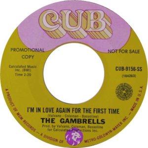 GAMBRELLS - 68 B