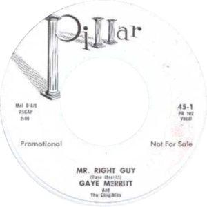 GAYE MERRIT ELLIGIBLES - 59 B