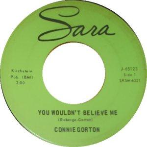 GORTON CONNIE - 65 B