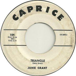 GRANT JANIE 61 A