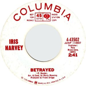 HARVEY IRIS - 66 B