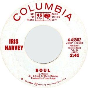 HARVEY IRIS - 66 C