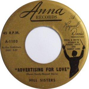 HILL SISTERS - 59 B