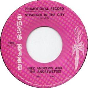 INEZ ANDREWS - 65 A