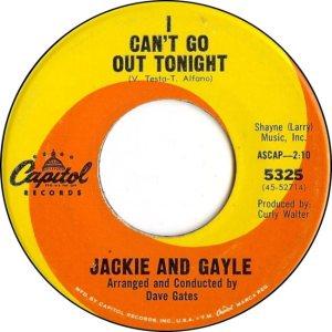 JACKIE GAYLE - 64 B