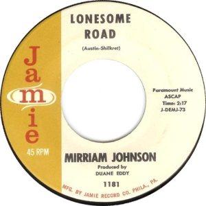 JOHNSON MIRRIAM - 61 D