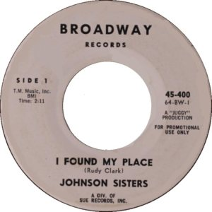 JOHNSON SISTERS - 64 A