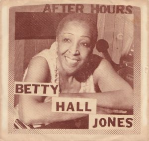 JONES BETTY HALL 60S A