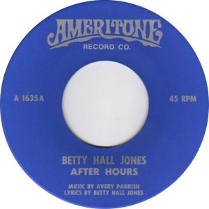JONES BETTY HALL 60S C