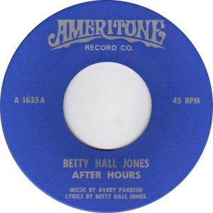 JONES BETTY HALL 60S C