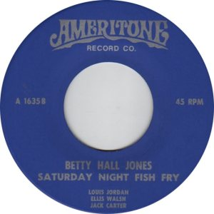 JONES BETTY HALL 60S D