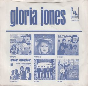 JONES GLORIA 69 NETH B