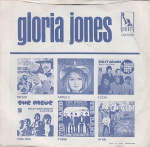 JONES GLORIA 69 NETH B