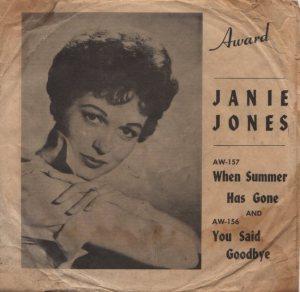 JONES JANIE 59 A