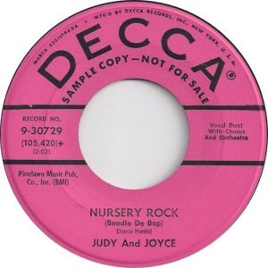 JUDY JOYCE - DECCA 58 A