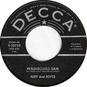 JUDY JOYCE - DECCA 58 B
