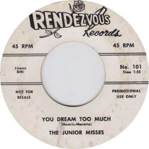 JUNIOR MISSES - 58 A