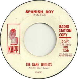 KANE TRIPLETS 64 A