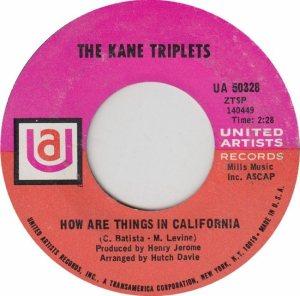 KANE TRIPLETS 68 B