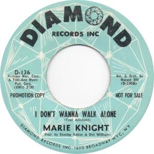 KNIGHT MARIE - 63 B