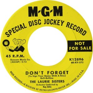 LAURIE SISTERS - 60 A