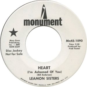 LEAMON SISTERS - 68 A