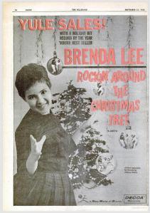 Lee, Brenda - 11-60 - Rockin Around the Christmas Tree