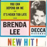 Lee, Brenda - Decca 31231 - You Can Depend on Me