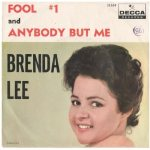 Lee, Brenda - Decca 31309 - Fool #1