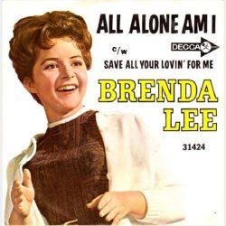 Lee, Brenda - Decca 31424 - All Alone Am I