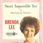 Lee, Brenda - Decca 31539 PS - Sweet Impossible You