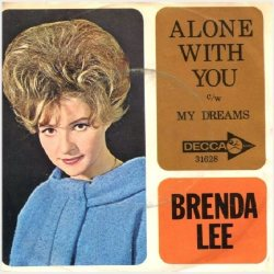 Lee, Brenda - Decca 31628 - Alone with You