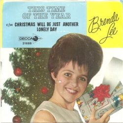 Lee, Brenda - Decca 31688 PS - This Time of The Year
