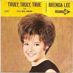 Lee, Brenda - Decca 31762 - Truly Truly True