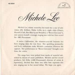 LEE MICHELE - 62 B
