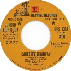 LIGHTFOOT - CAREFREE HIGHWAY