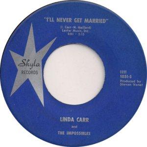 LINDA CARR IMPOSSIBLES - 61 A