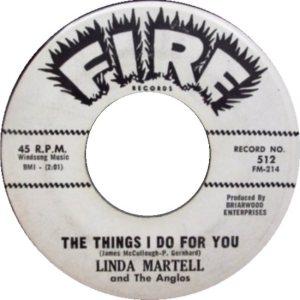 LINDA MARTELL ANGLOS 62 B