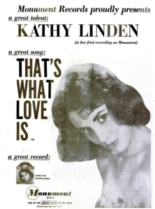 Linden, Kathy - 04-60 - That's What Love Is