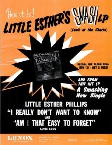 Little Esther - 01-63 - Smash LP