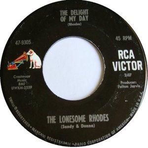 LONESOME RHODES - 66 B