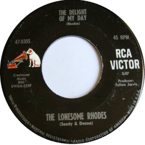 LONESOME RHODES - 66 B