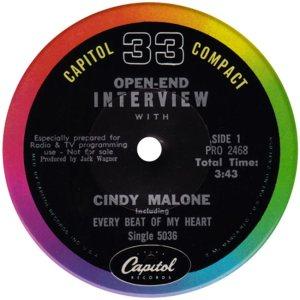 MALONE CINDY 63 C