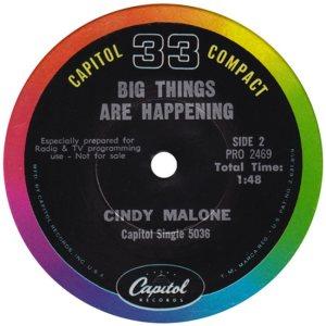 MALONE CINDY 63 D