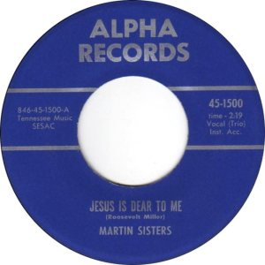 MARTIN SISTERS 59 D