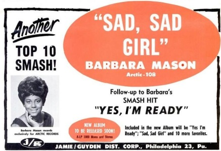 Mason, Barbara - 07-65 - Sad Sad Girl