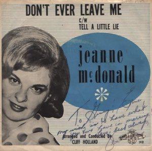 MCDONALD JEANNE - 60s A