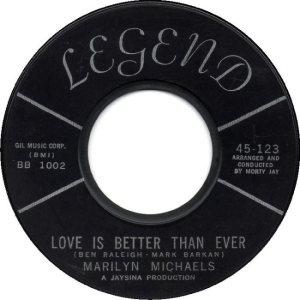 MICHAELS MARILYN 63 C